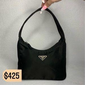 ✨✨✨✨SOLD✨✨✨✨ Prada Black Nylon Hobo Shoulder Bag